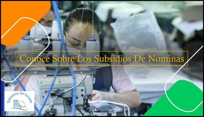 Conoce Sobre Los Subsidios De Nóminas
