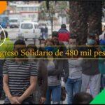 Ingreso Solidario De 480 Mil Pesos